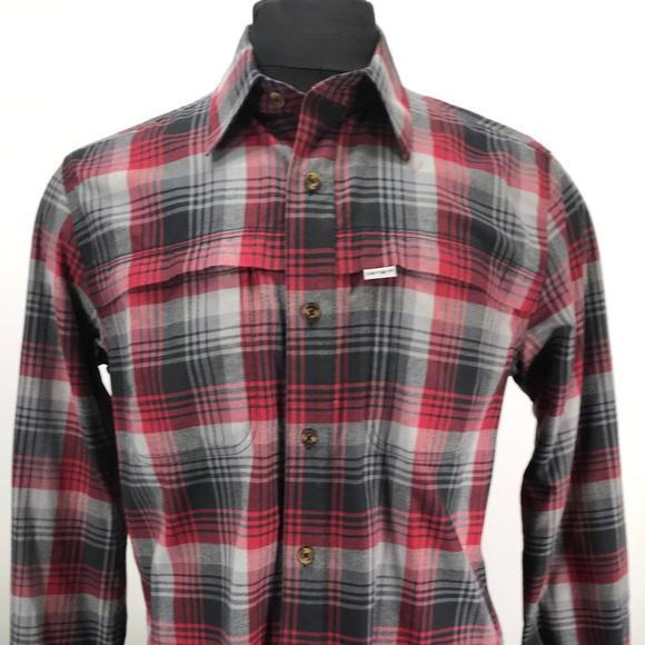 9b7bc0b1391547 Carhartt Shirts | Force Flannel Shirt Long Sleeve Plaid | Poshmark